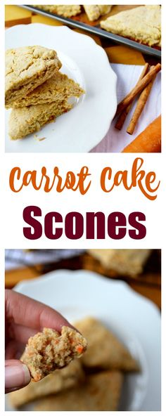 Carrot Cake Scones a yummy Easter snack. Perfect with coffee or as a kid friendly snack. A yummy Easter dessert everyone will love. Nothing better than having Carrot Cake for breakfast.