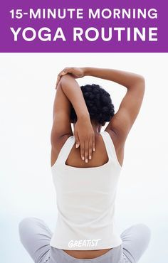 Bounce Out of Bed with This Quick Yoga Fix #yoga #workout #energy http://greatist.com/move/morning-yoga-for-beginners