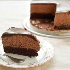 עוגת מוס שוקולד להתעלף