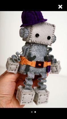 Tool belt robot.