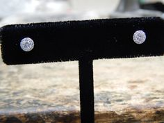 0.50 ct Diamond Halo Earrings