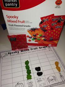 halloween fruit snack, fruit snack graph, halloween graph
