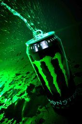 """""""Explosion"""" – Image meant to visually express the explosion of taste and the power of the boost that Monster Energy … Monster Energy Drinks, Best Energy Drink, Image Meaning, What Is Advertising, Green Monsters, Monster Party, Advertising Photography, Explosions, Cool Wallpaper"""