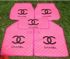 Chanel car mats.