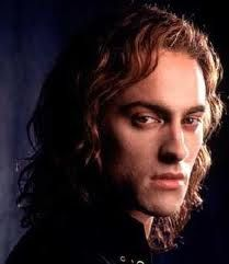 "The vampire Lestat played by actor Stuart Townsend in author Anne Rice's (based) romantic vampire thriller ""Queen of the Damned"", 2002."