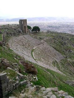 Pergamum was one of the most prestigious and prosperous cities of the Hellenistic world, even rivaling Alexandria and Rome.