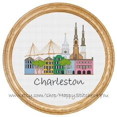 Hey, I found this really awesome Etsy listing at https://www.etsy.com/listing/234518409/cross-stitch-pattern-pdf-charleston-city