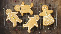 This easy recipe for gingerbread men is great for baking with children and makes a lovely homemade present.