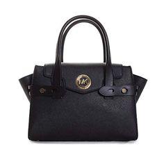 Michael Kors Carmen Small Flap Satchel Handbag