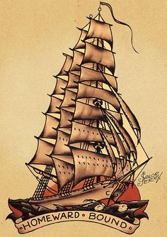 Sailor Jerry 49 (ship) by FAMILIAR STRANGERS Tattoo Studio - Singapore, via Flickr