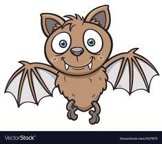 Vector illustration of Cartoon bat , Bat Vector, Lion Vector, Rabbit Vector, Vector Free, Cute Dog Cartoon, Cartoon Bat, Zombie Cartoon, Halloween Mug, Cute Horses