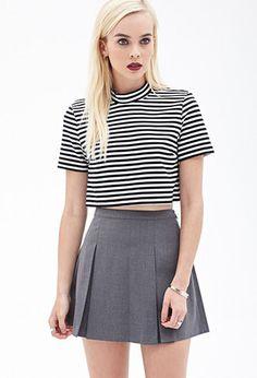Pleated Mini Skirt | FOREVER21 - 2000059289