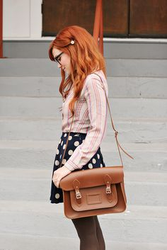 Weekly Wears: Dots and Stripes by Skunkboy Creatures., via Flickr