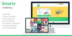 Smarty . Smarty – Bootstrap eCommerce PSD template designed for opencart, magento, woocommerce, prestashop and