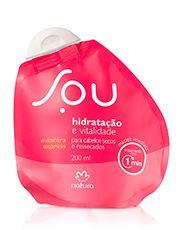 Máscara Express Hidratação e Vitalidade SOU - 200ml