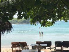 Blue beach at #Hirikatiya 40 minutes from #StellaBeachVilla