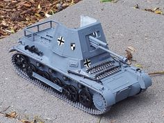 Panzer Jager-1   1:35 scale Zvezda model. Photo makes the grey look more blue than it is