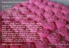 Best Cream Cheese Mint Recipe | Peppermint Cream Cheese Mints