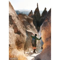 Hiking in Cappadocia. >>> I would love to go back. Have you been?