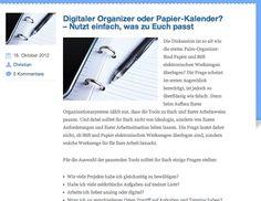 """Einige Gedanken zur alten Debatte """"Papier vs. Elektronik"""""""