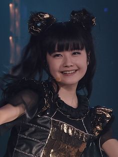 Japanese Girl Band, Beautiful Japanese Girl, Doki Doki Morning, Moa Kikuchi, Girl Bands, Yui, Metal Bands, Girl Gifts, Heavy Metal
