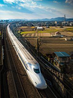 "Shinkansen 2, ""Bullet Train"", Japan"