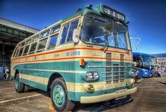 三角バス Isuzu BF-20 Narrow mountain road Bus Bus Coach, Caravans, Old Cars, Motorhome, Cars And Motorcycles, Super Cars, Trucks, Japan, Vehicles