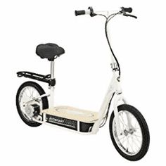 Buy Razor EcoSmart Metro Electric Economical Green Scooter with Seat & Rack Pack) at online store Best Scooter For Kids, Kids Scooter, Electric Scooter With Seat, Electric Bicycle, Razor Electric Scooter, Street Legal Scooters, Power Bike, Look Good Feel Good, Coffee Shop