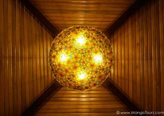 Another interesting and beautiful ceiling light