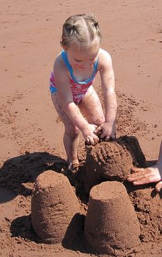 1. Sandcastles (obviously)