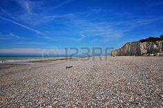 French destination, white cliffs in Normandy