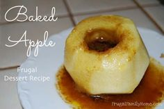 A easy microwave recipe for Baked Apples..