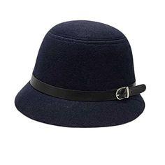 FUNOC Women Vintage Wool Round Fedora Cloche Cap Wool Fel... https://www.amazon.com/dp/B01JG1MV7I/ref=cm_sw_r_pi_dp_x_sd4sybAK7TP5Y