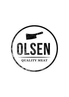 Olsen Quality Meats by Eivind Garlind Guttuhaugen, via Behance