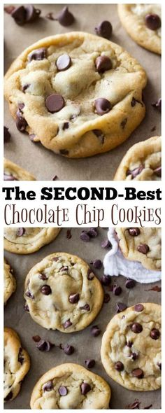 A classic, no-secret-ingredient-required chocolate chip cookie recipe! It is soft, chewy, with slightly crisped edges, buttery, loaded with chocolate chips and tweaked to be superior in texture and flavor to every chocolate chip cookie out there (except one...)! via @sugarspunrun