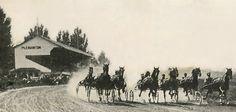 "Alameda County Fair celebrates centennial: ""And they're off!"" at the first Alameda County Fair in 1912. #Fremont #UnionCity #Newark #EastBay #BayArea"