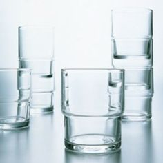 The HS Stackable Glass Tumblers from Toyo Sasaki have been a best-selling product for over 40 years. Featuring the Hard Strong (HS) glass-strengthening technology developed by Toyo Sasaki Glass in 1967, this tumbler is more durable than standard glassware. The HS is applied to the top portion of the glass, which toughens the glass so that it is resistant to chipping, especially when stacked with other Toyo Sasaki stackable tumblers. Renowned for their durability, these glasses are the ...