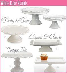 DIY Cake Pedestals - August Joy Studios