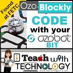 Found at FETC: Ozoblockly.com- Code with Your Ozobot BIT