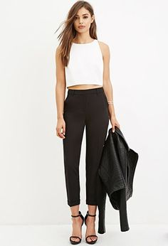 Classic Cuffed Trousers | Forever 21 | #foreveryou