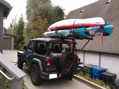 Hitchmount-Rack in the Sierras! Kayak Rack, Mojave Desert, Racking System, Fish Camp, Jeep Stuff, Kayak Fishing, Jeeps, Kayaking, Jeep