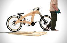 De Ikea fiets van Jurgen Kuipers