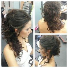 #hair #cabello #upDo #peinado #curls #griego #estilista #peluquero #hairstylist #hairdresser #panana #pty Updo, Hair Dos, Bridal Hair, Dreadlocks, Long Hair Styles, Hairstyles, Beauty, Gorgeous Hair, Wedding Decoration
