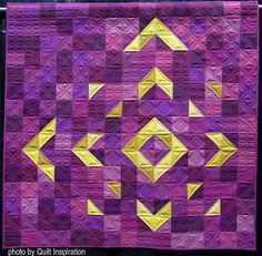 We& keeping it simple for summer at Quilt Inspiration and featuring a showcase of modern quilts. These original design quilts have a bold. Owl Quilts, Batik Quilts, Scrappy Quilts, Quilting Fabric, Fabric Dye, Machine Quilting, Charm Square Quilt, Half Square Triangle Quilts, Easy Quilts