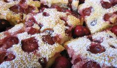A legfinomabb cseresznyés sütemény, könnyű kevert tésztából - bien.hu
