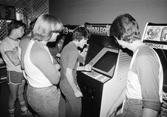 Ohio arcade, 1983. (Photo: AP Photo/Rich Dugas) The Coin-Op Comeback: Classic Arcades Get an Extra Life