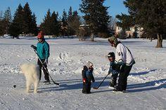 Outdoor Hockey - A Favourite Winter Activity