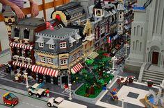 Lego DIORAMA CITY
