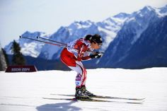 Masako Ishida of Japan competes during the Women's 30 km Mass Start Free during day 15 of the Sochi 2014 Winter Olympics at Laura Cross-country Ski & Biathlon Center on February 2014 in Sochi,. Get premium, high resolution news photos at Getty Images Cross Country Skiing, Hd Desktop, Winter Olympics, Norway, Travel Guide, Mount Everest, Japan, Mountains, Wallpaper