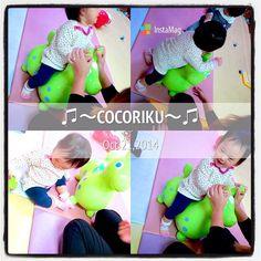 @cocoriku_papa - 2014.10.21 : ココちゃん&ちょっとだけリクちゃん!! : ママちゃんにブンブン激し... - Enjoygram